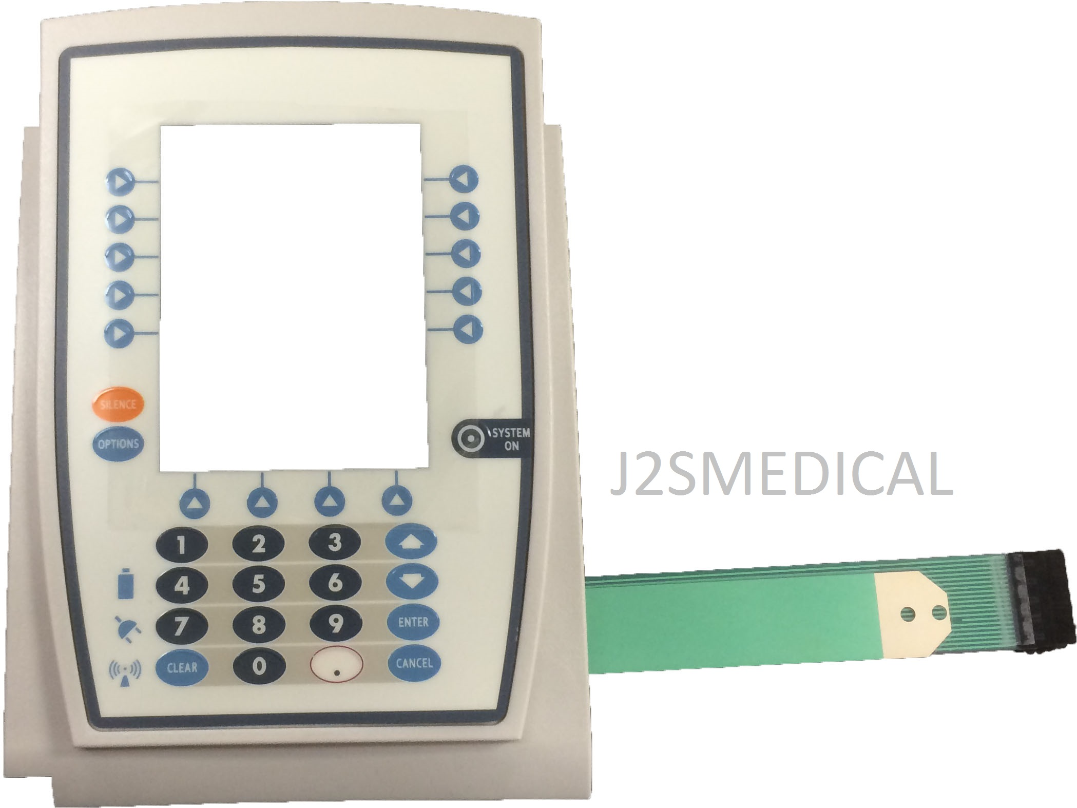 Replacement Bezel With Keypad For Carefusion 8015 Image