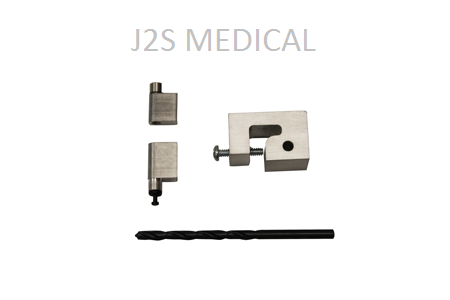 Bezel Hinge Kit For Carefusion Medley 8100 Image