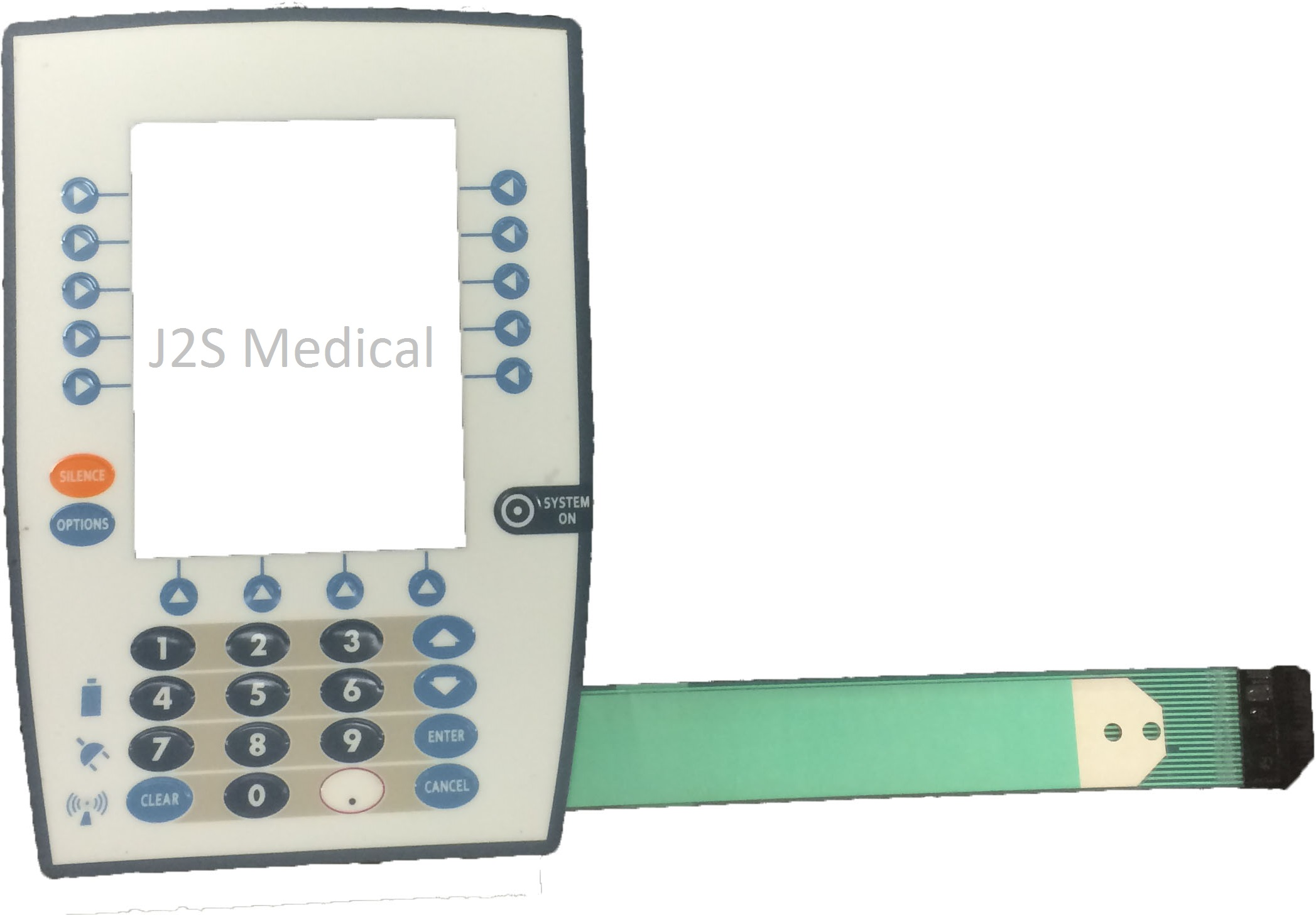 Replacement Keypad For Carefusion Medley 8015 Image